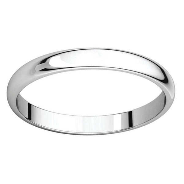 .925 Sterling Silver 10 Mm Half-round Wedding Band Ring Buy One Get One Free Engagement & Wedding
