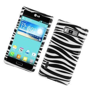 Insten Zebra Glossy 2D Image Protector Case Cover LG Splendor/ Venice/ US730/ L86C