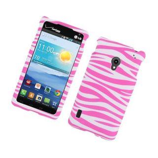 Insten Zebra Rubberized Image Protector Case Cover for LG Lucid 2 VS870