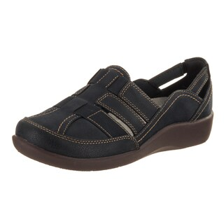 Women's Clarks Sillian Stork Slip-On Navy Synthetic