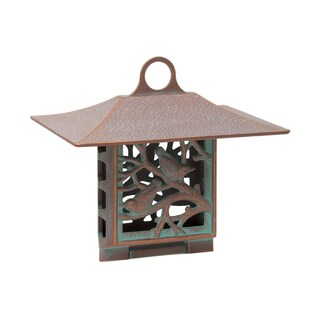 Whitehall Nuthatch Copper Verdigris Aluminium Suet Bird Feeder