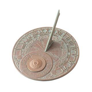 White Hall Copper Verdigris Aluminum Perpetual Calendar Sundial