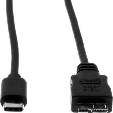 Rocstor Premium USB-C to Micro-B Cable 3ft (1m) - M/M - USB 3.0 - USB Type-C to Micro-USB Cable - USB for External Hard Drive,