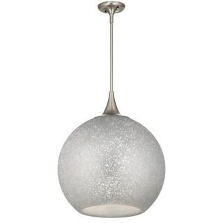 Kichler Lighting Sitara Collection 1-light Brushed Nickel Pendant