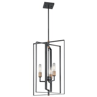 Kichler Lighting Taubert Collection 3-light Black Pendant