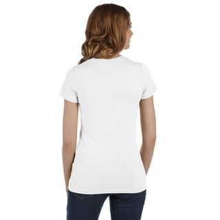 BY Jodi Women's Slim Fit Face Graphic T Shirt