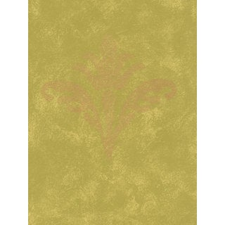 Thibaut Palladio Gold/ Green Double Roll Designer Wallpaper