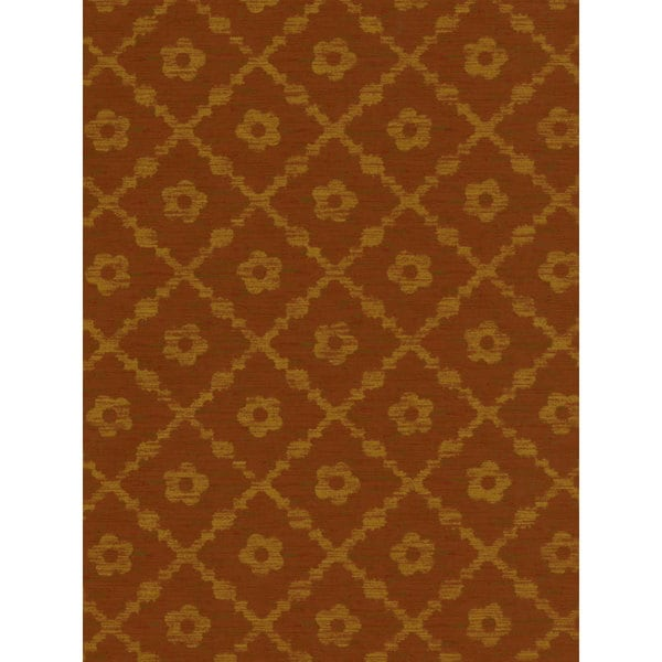 Thibaut Palladio Golden Flowers Double Roll Designer Wallpaper