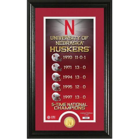 University of Nebraska Legacy Bronze Coin Photo Mint