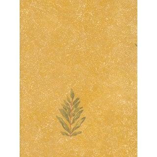 Thibaut Palladio Golden Flora Double Roll Designer Wallpaper
