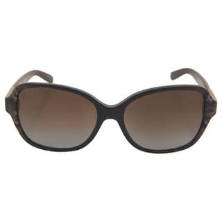 Michael Kors Unisex's MK 6013 3019T5 Cuiaba - Brown Snake Polarized Sunglasses
