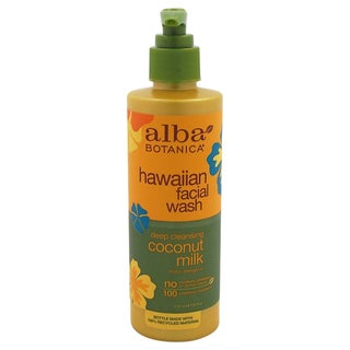 Alba Botanica Hawaiian Coconut Milk 8-ounce Facial Wash