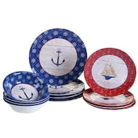 Certified International Nautique 12-piece Dinnerware Set