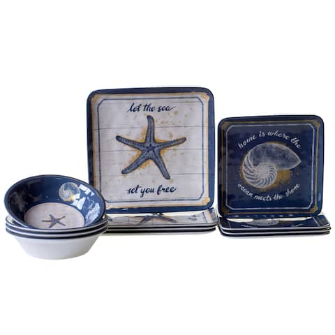Certified International Calm Seas 12-piece Dinnerware Set