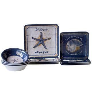 Certified International Calm Seas 12-piece Dinnerware Set