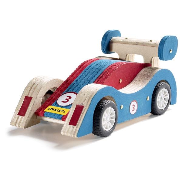 Reeves Stanley Jr. Pull-back Sports Car Wood Building Kit