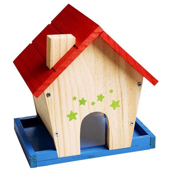 Reeves Stanley Jr. Wood Bird Feeder Building Kit