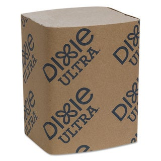 "Dixie Ultra Interfold Napkin Refills 2-Ply, 6 1/2"" x 9 7/8"", Brown, 6000/Carton"