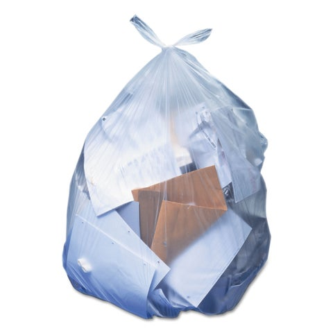 Heritage Low-Density Can Liners 33 gal 0.65 mil 30 x 39 Clear 250/Carton