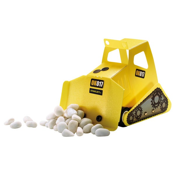 Reeves Stanley Jr. Bulldozer Wood Building Kit