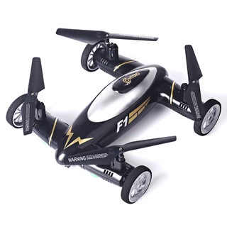 Contixo F1 Kids Drone RC Quadcopter Flying Car RC 2.4GHz 4 Channel Drone, with Battery, Easy Stunts, and 6 Axis Gyro