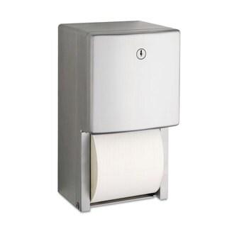 Bobrick ConturaSeries Two-Roll Tissue Dispenser 6 1/16-inch x 5 15/16-inch x 11-inch