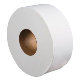 Boardwalk Jumbo Roll Bathroom Tissue 2-Ply White 3.4-inch x 1000 ft 12 Rolls/Carton