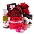 Naughty Nights Couples Romantic Gift Basket