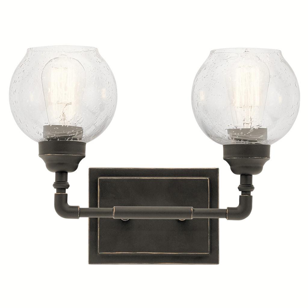 Shop Carbon Loft Guillotin 2-light Bronze Bath/Vanity Light