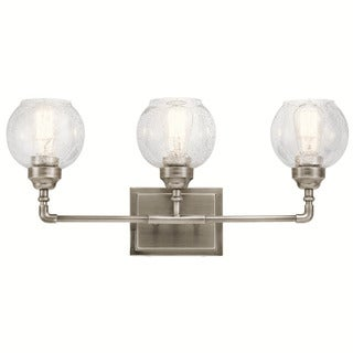 Kichler Lighting Niles Collection 3-light Antique Pewter Bath/Vanity Light