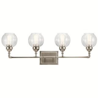 Kichler Lighting Niles Collection 4-light Antique Pewter Bath/Vanity Light