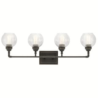 Kichler Lighting Niles Collection 4-light Olde Bronze Bath/Vanity Light