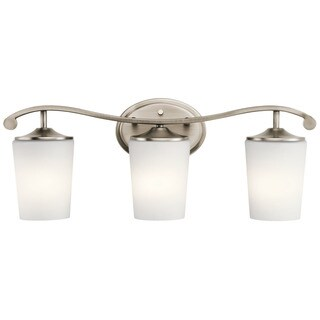Kichler Lighting Versailles Collection 3-light Antique Pewter Bath/Vanity Light