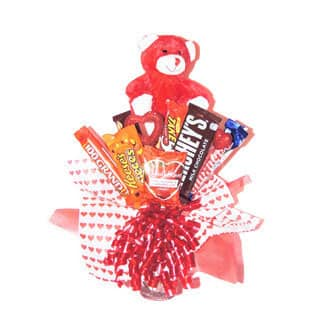 Teddy Love Gift Bouquet