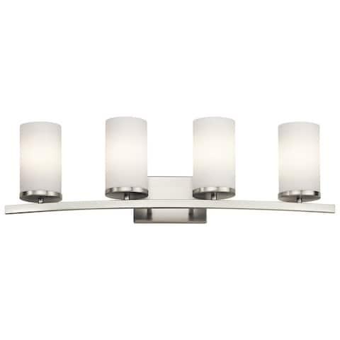 Porch & Den Swinford 4-light Brushed Nickel Bath/Vanity Light