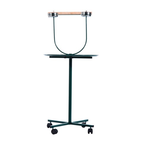 Pawhut Bird Play Wheeled Stand