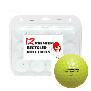 Pinnacle Yellow Mix Recycled Golf Balls (Case of 24)