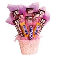 Hershey Bar Candy Bouquet