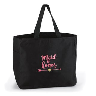 Wedding Party Maid of Honor Tribal Tote Bag