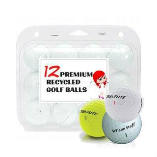 White Assorted Mix Recycled Golf Balls (Case of 24)|https://ak1.ostkcdn.com/images/products/14204963/P20799385.jpg?impolicy=medium