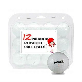 Maxfli Noodle Mix Recycled Golf Balls- 12 Pack