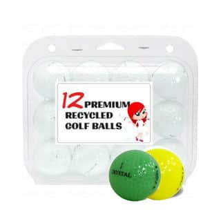 Crystal Colors Mixed Recycled Golf Balls (Case of 12)|https://ak1.ostkcdn.com/images/products/14204967/P20799388.jpg?impolicy=medium
