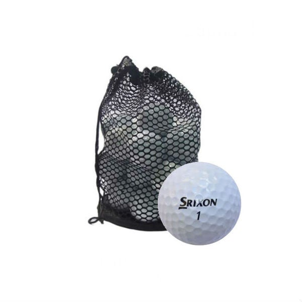 Srixon Mesh Bag Mix Recycled Golf Balls (Case of 50)