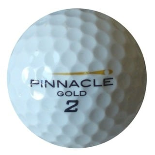 Pinnacle Black Mesh Bag with Recycled Golf Balls (Pack of 100)