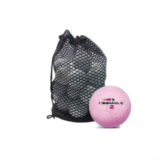 Lady Crystal Mix Mesh Bag Recycled Golf Balls (Case of 50)