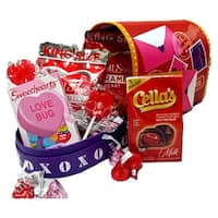 Valentine's Day Heart MailBox Large Gift Basket