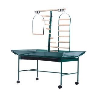 "Pawhut 53"" Bird Play Wheeled Stand"