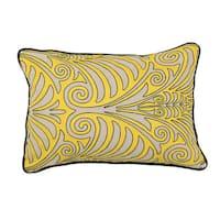 "Kosas Home Deede Yellow 14""x20"" Pillow"