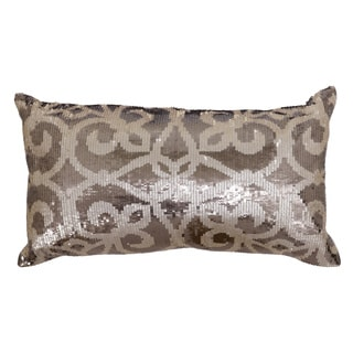 Kosas Home Giselle Pearl/ Bronze Pillow