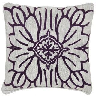 Kosas Home Dahlia Plum 18-inch Pillow